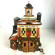 Retired Department 56 New England Village Series Franklin Hook & Ladder Co. - $29.69