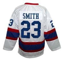 Custom Name # Moncton Hawks Retro Hockey Jersey New White Any Size image 2