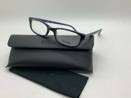 GUESS GU2292 BKPUR Women's Eyeglasses Frames 50-17-135 Black / Purple + ... - $31.98