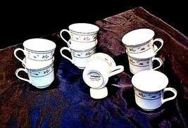 Abingdon Fine Porcelain China Tea Cups Japan AA18 - 1152-A Vintage image 4