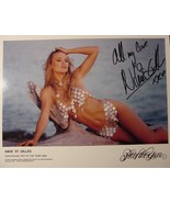 Penthouse pet of the year 1999 Nikie St. Gilles hand signed Publicity Photo - $24.99