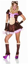NEW Delicious Beary Cute Costume, Brown/Pink, X-Small BRAND NEW - $18.62