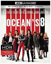 Ocean's 8 [4K Ultra HD+Blu-ray+Digital, 2018]