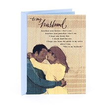 Hallmark Mahogany Religious Birthday Greeting Card for Husband (My Rock) - $4.78
