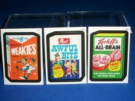 2010 Wacky Packages All New Series 7 {ANS7} Cereal Box Bonus Stickers C4 C5 C6.. - $6.80