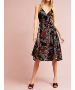 Anthropologie Floral Burnout Slip Dress by Eri+Ali $168 Sz 10 - NWT - $71.99