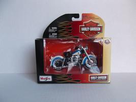 2010 Maisto~Harley Davidson Motor Cycles~1958 FLH Duo Glide~1:18 Die-cast - $10.00