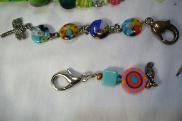 6 Assorted Embroidery or Other Scissor Fobs image 2