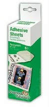 Scrapbook Adhesives Adhesive Sheet, 6 x 12 inches, 5 Sheets