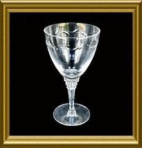 "Tiffin ""Mimi"" Cut Crystal Water Goblet - $12.00"