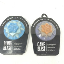 Lot of 2 Da Bomb Foaming Body Scrub with Surprise Inside Bling Blast Cake Blast - $11.29