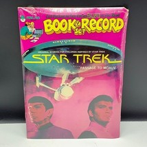 Star Trek vintage 1979 book record set factory sealed Peter Pan Passage ... - $34.65
