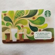 2015 Starbucks Gift Card 3 Coffee Travel Mugs Raining Coffee Plant Drops... - $8.00