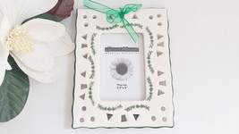 Ceramic Picture Frame Special Moments Memories Collection, Vintage Frame - €9,22 EUR