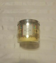 New Bath & Body Works Hot Buttered Rum 3-WICK Filled Scented Candle 14.5 Oz - $24.72