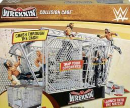 WWE WREKKIN COLLISION CAGE PLAYSET BRAND NEW - $94.99