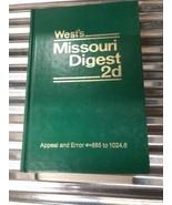 West's Missouri Digest 2d Volumes 1 Through 50 - $19.99