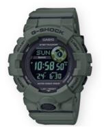 Casio Men's G-Shock GBD800UC-3 Digital Power Trainer Watch Green - $94.95