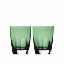 Waterford W Collection Fern Tumbler Pair Crystal New # 40032055 - $147.26