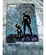 Dad & Son Superheroes - $58.50