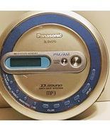 Panasonic SL-SV570 Portable CD & Radio FM/AM Player Anti-Skip MP3 BLUE Disc - $22.00