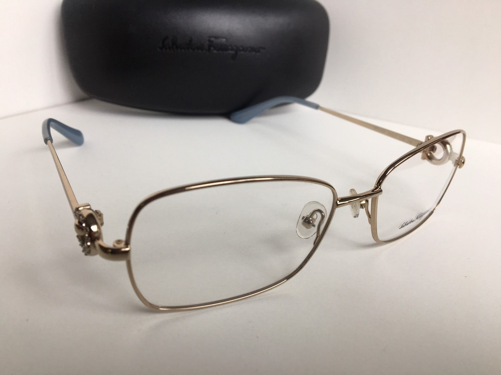 16666b0bd3 New Salvatore Ferragamo SF 2133R SF2133R 718 55mm Gold Women Eyeglasses  Frame