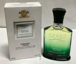Original Vetiver by Creed, 3.3 oz Millesime EDP Spray for Unisex - Open Box - $174.14