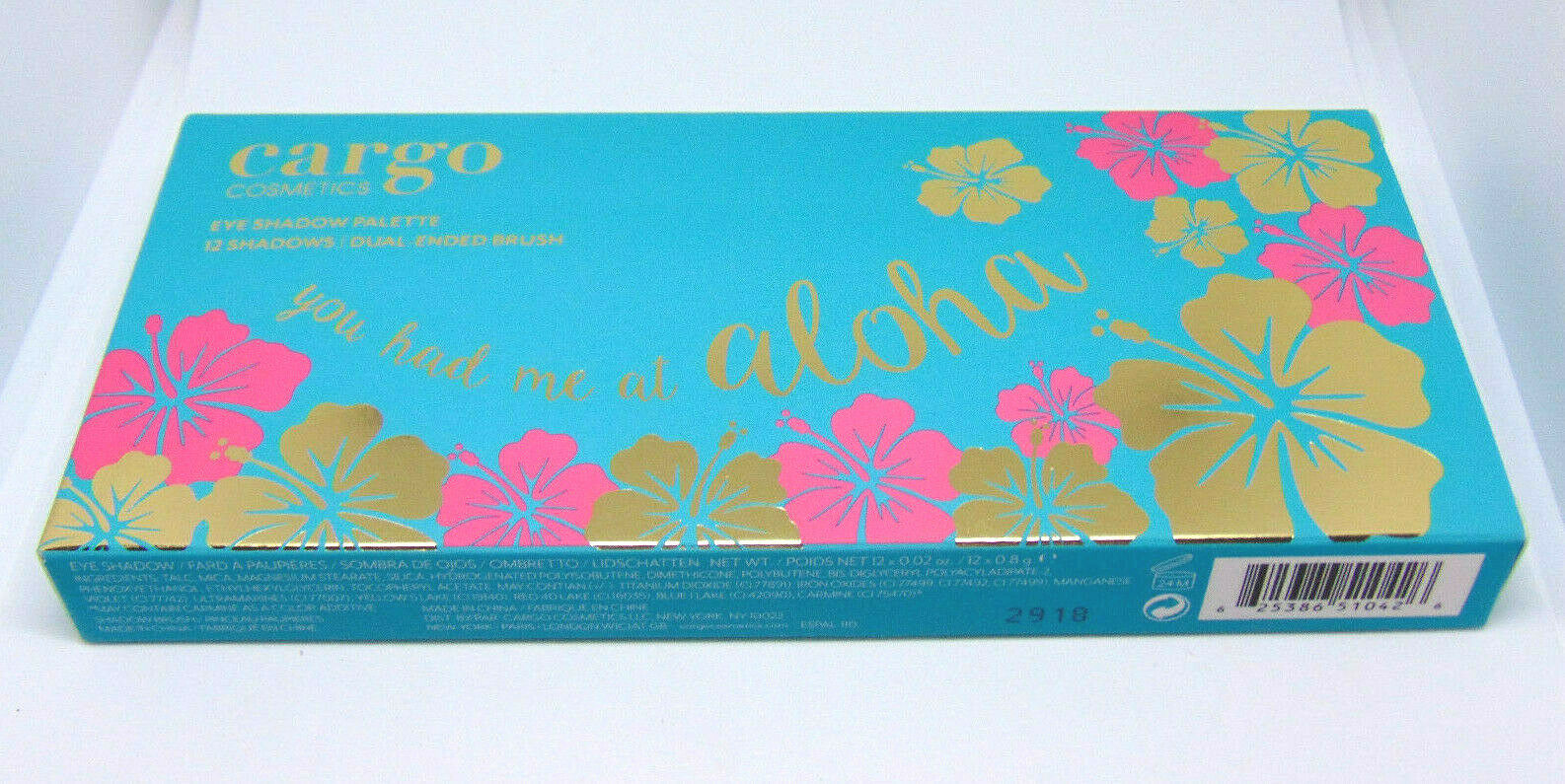 Primary image for CARGO Eye Shadow Palette You Had Me at Aloha NIB