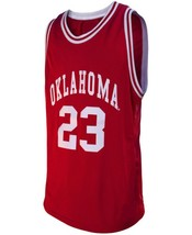 Blake Griffin #23 College Basketball Custom Jersey Sewn Maroon Any Size image 1