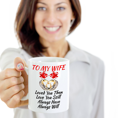 Wedding Anniversary Engagement Birthday Gift For Wife Her Color Changing Mug