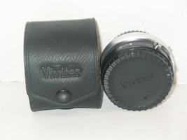 Vivitar Automatic Tele Converter 2X-5 for Minolta MD with Leather Case Vintage - $12.19