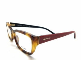 Prada VPR 18O TKR-1O1  Havana/Red Authentic Eyeglasses 52mm 18mm 135mm W... - $87.27