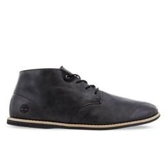 Timberland Revenia Chukka Boots In Black Leather   Size 12   A1QZU - $69.30