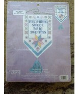 "Candmar Designs Counted Cross Stitch Kit ""Dreaming Sweet Baby Dream""  5.... - $29.69"