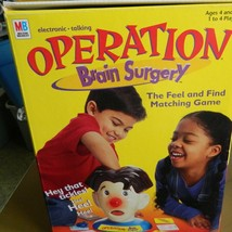 Operation Brain Surgery Electronic Talking Find and Feel Game--COMPLETE - $22.00