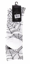 40 Oz Forty Ounce NYC New York 1 Pair of White Spider Web Crew Socks NWT image 2