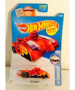 Hot Wheels-1:64 2016- New for 2016 Side Ripper HW Showroom- Red 119/250 - $2.96