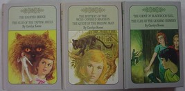 Nancy Drew Twin Thrillers 3 LOT Lavender covers #15, 16, 18, 19, 25, & 2... - $12.00