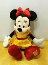 "12"" Disney World 40th Anniversary Minnie Mouse Plush w/ Gold Logo - $11.83"