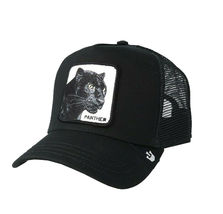 Goorin Bros Snapback Mesh Cap Black Panther Cat Mesh Trucker Hat 101-0465 image 4