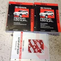 1991 TOYOTA 4RUNNER Service Shop Repair Workshop Manual Set OEM EWD Factory - $247.45