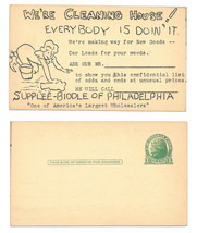 Advertising Postal Card UX27 Supplee Biddle Philadelphia PA Preprinted C... - $4.99