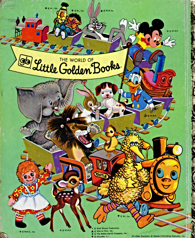 Little Golden Book - Tweety Plays Catch the Puddy Tat