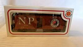 HO Scale Bachmann 41' Box Car, Northern Pacific, Brown, #6753 BNOS - $22.28