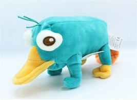 """Disney Store Perry the Platypus Phineas and Ferb Plush Toy Doll 10"""" New - $10.99"""