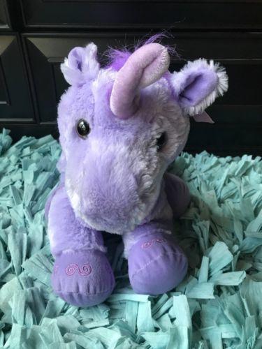 Toys R Us Purple Large Unicorn W Ribbon And 50 Similar Items