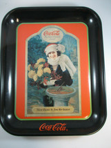 Coca-Cola Vintage Thirst Knows No Time or Season Tin Tray - $9.90