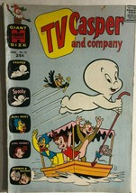 Tv Casper And Company #12 (1966) Harvey Giant Size Comics Vg+ - $12.86