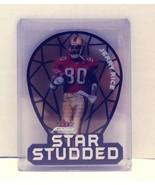 2000 Fleer Focus Star Studded Jerry Rice San Francisco 49ers Football Card - $15.00