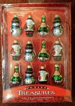 Kurt S. Adler Collection Glass Ornament - Petite Treasures - Set of 12 - $29.68